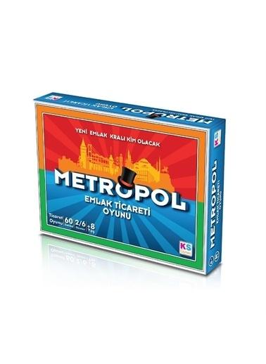 KS Puzzle KS Puzzle T 127 Metropol Emlak Ticareti Oyunu Renkli